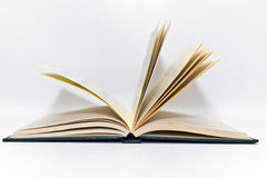 Open Book. With the pages turning Royalty Free Stock Photography