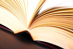 Open book abstract Stock Photos