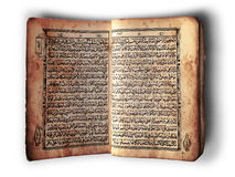 Open book Al-Quran Royalty Free Stock Photos