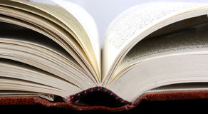 Open Book Background Royalty Free Stock Photography