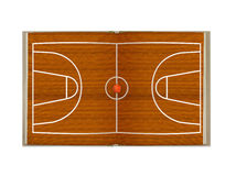 Open  book  basketball court Royalty Free Stock Image