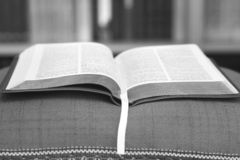 Open book Bible. The book of life.  royalty free stock photos