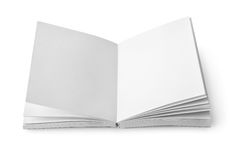 Book with clean sheets Royalty Free Stock Images