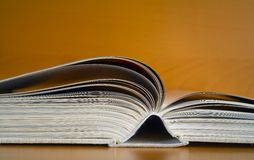 Open book, close up, Stock Images