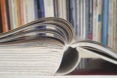 Open book, close up Royalty Free Stock Image