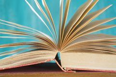 Open book,close up Royalty Free Stock Image