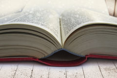 Open book close-up Royalty Free Stock Image