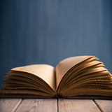 Open book, copyspace Stock Photos