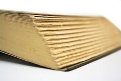 Open Book Corner Royalty Free Stock Images