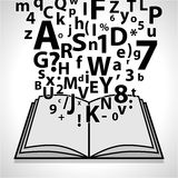 Open Book- Education Stock Photography