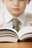 Open book in hands Stock Images