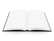 The open book in hardcover Stock Image