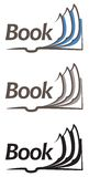 Open book icon. This is file of EPS10 format Stock Photography