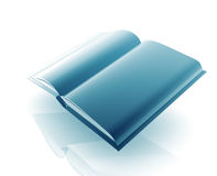 Open book illustration Royalty Free Stock Image