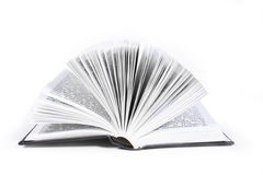 Open Book. Isolanned on a white background Royalty Free Stock Image
