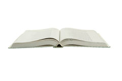 Open book isolated on white. Royalty Free Stock Image