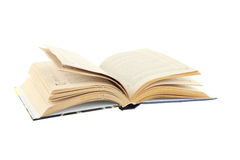 Open book isolated on a white Stock Photo