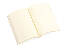 Open book isolated Royalty Free Stock Image