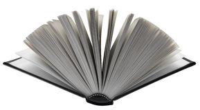 Open book isolated Stock Photography