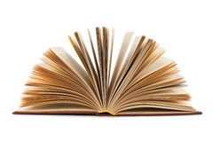 Open book isolated on a white background Royalty Free Stock Image