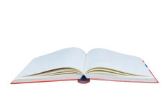 Open book isolated on white background Stock Photography