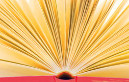 Open book - nice background. Open book with yellow pages - nice background Stock Photo