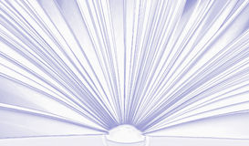 Open book, nice background Stock Photography