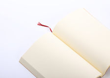 Open book paper blank isolated Stock Images