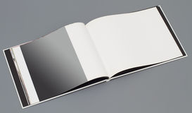 Open book's page Royalty Free Stock Photo