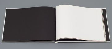 Open book's page Stock Photo