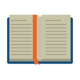 Open book school learning library Royalty Free Stock Photography