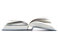 Open book on the table Royalty Free Stock Photos
