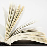 Open book. On white background Royalty Free Stock Image