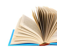 The open book. On white background. Stock Image