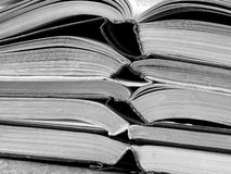 Open books Stock Photography