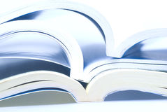 Open books Royalty Free Stock Photo