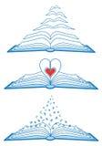 Open books,  Stock Photo