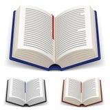 Open Books vector illustration