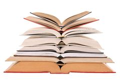 Open Books Stock Images