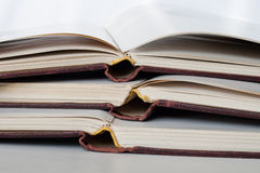 Open books Royalty Free Stock Photo