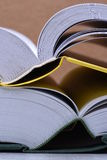 Open books closeup, learning concept Royalty Free Stock Photography