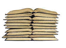 The open books Royalty Free Stock Image
