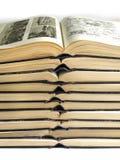 The open books Stock Photo