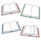 Open books Stock Image