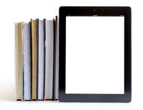 Open Books on tablet pc concept Royalty Free Stock Photo