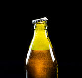 Open bottle of beer Royalty Free Stock Images