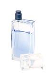 Open bottle of perfume Stock Image