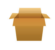 Open  box. Stock Images