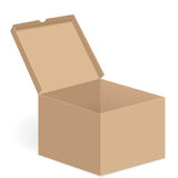 Open box Stock Photography