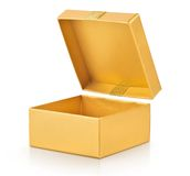 Open box closeup Royalty Free Stock Photography